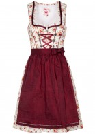 "Dirndl ""Honey"" mini, Rot"