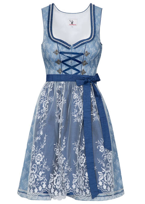 "Dirndl ""Heaven"" mini, Blau"