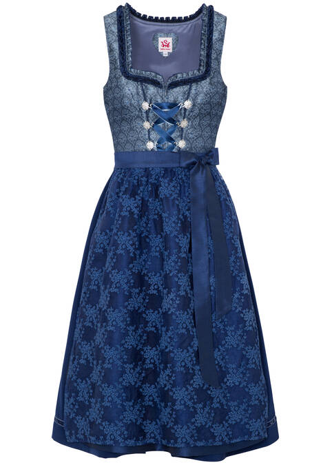 "Dirndl ""Mandy"" mini, Blau"
